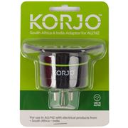 Korjo - South Africa & India Adaptor for Australia and NZ