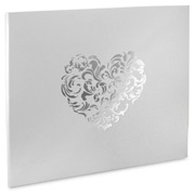 Corban & Blair - Amore Large Photo Album Silver