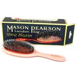 Mason Pearson - Pink Junior Bristle & Nylon Brush
