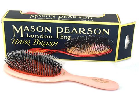 Mason Pearson - Pink Junior Bristle & Nylon Brush | Peter ...