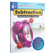 Book - Kumon Speed & Accuracy Math Workbook: Subtraction