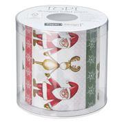 Paper & Design - Santa and Rudolph Toilet Paper