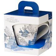 V&B - NewWave Caffe Sydney Mug 350ml