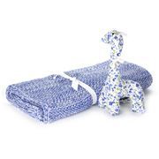 D Lux - Mini Moss & Gerry Giraffe Gift Box Blue