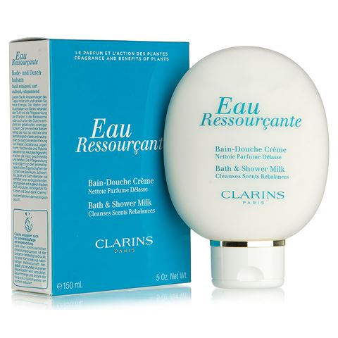 clarins eau ressourcante bath shower milk 150ml