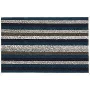 Chilewich - Even Stripe Marine Indoor/Outdoor Mat Medium