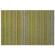 Chilewich - Skinny Stripe Citron Indoor/Outdoor Mat Medium