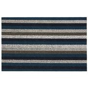 Chilewich - Even Stripe Indoor/Outdoor Mat Small Marine
