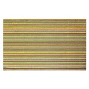 Chilewich - Skinny Stripe Bright Multi Indoor/Out. Mat Lge