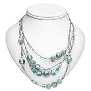 Antica Murrina - Elizabeth I Green Murano Necklace