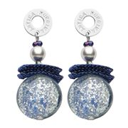 Antica Murrina - Grace Blue Murano Earrings
