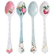 Royal Albert - Vintage Mix Teaspoon Set 4pce