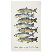 Susie Crooke - Trout Tea Towel