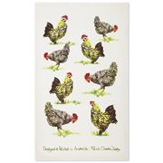Susie Crooke - Chooks Tea Towel