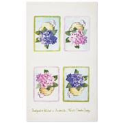 Susie Crooke - Pink Hydrangeas Tea Towel