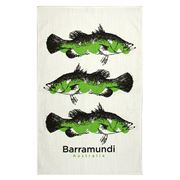 Alperstein - Sketch Barramundi Tea Towel