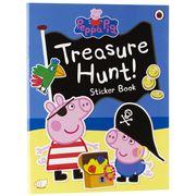 Book - Peppa Pig Treasure Hunt! Sticker Activity Book