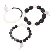 Bowerhaus - Black Out Bracelet Trio
