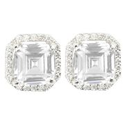 Bowerhaus - Hello Lover Marc Anthony Clear Earrings