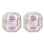 Bowerhaus - Hello Lover Marc Anthony Pink Earrings