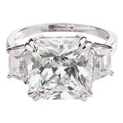 Bowerhaus - Hello Lover Bond Clear Ring Size 6
