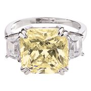 Bowerhaus - Hello Lover Bond Canary Ring Size 6