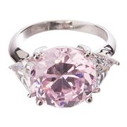 Bowerhaus - Hello Lover Mr Darcy Pink Ring Size 6