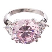 Bowerhaus - Hello Lover Mr Darcy Pink Ring Size 8