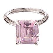 Bowerhaus - Hello Lover Romeo Pink Ring Size 6