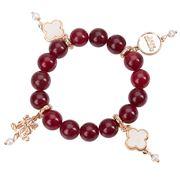 Bowerhaus - Lucky Charm Salsa Red Bracelet