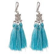 Bowerhaus - Ocean Blue Tassel Earrings