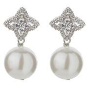 Bowerhaus - Hello Jackie Shell Pearl Earrings
