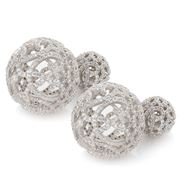 Bowerhaus - Pave Bauble Earrings