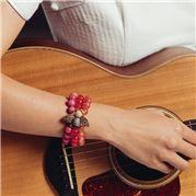 Bowerhaus - Bee Bracelet Red
