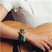 Bowerhaus - Bee Bracelet Green