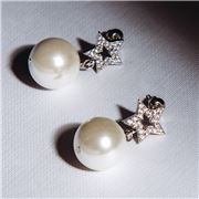Bowerhaus - Maryanne Star and Pearl Studs
