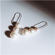 Bowerhaus - Maryanne Triple Pearl Earrings
