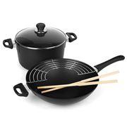 Scanpan - Classic Wok & Casserole Cookware Set 2pce