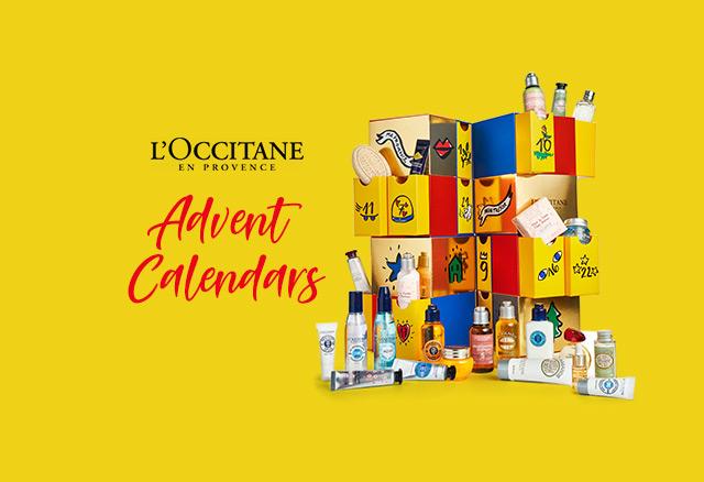 L'Occitane Calendars