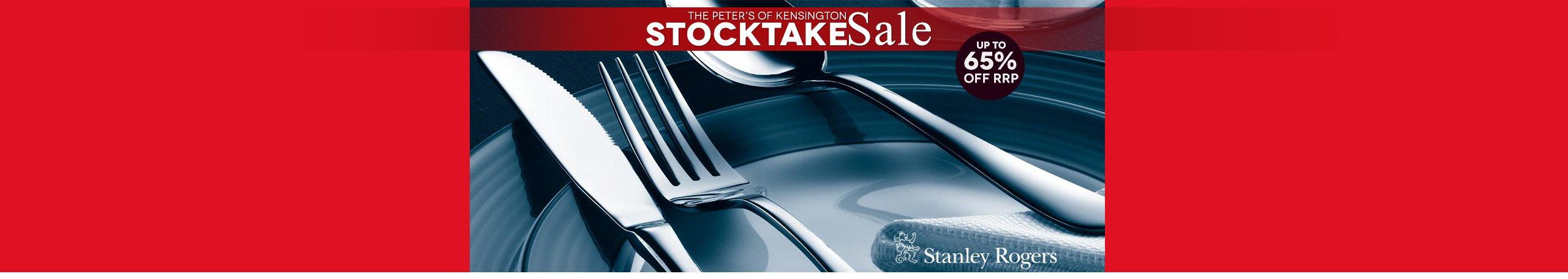 Stocktake Sale Stanley Rogers Cutlery