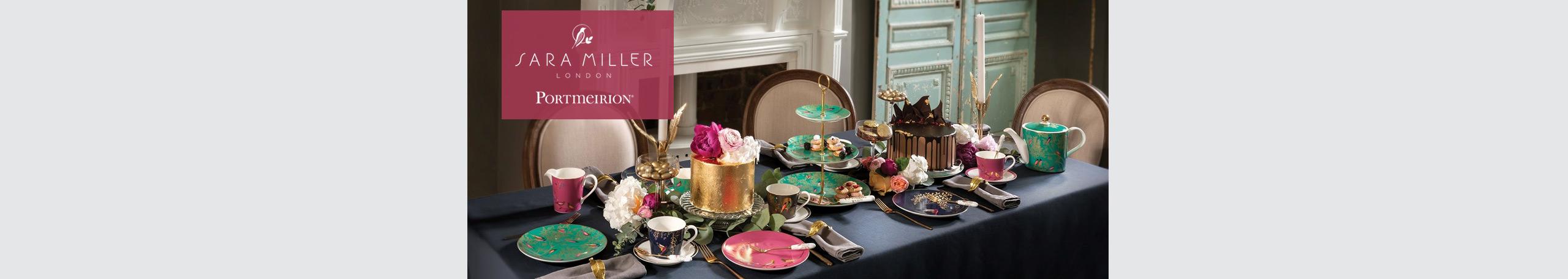 Portmeirion Sara Miller Teaware Collection