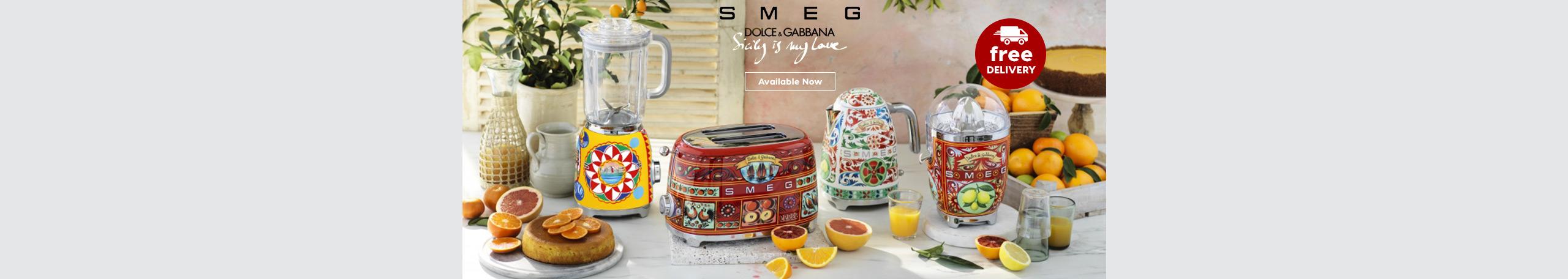 Smeg Dolce & Gabbana Appliances