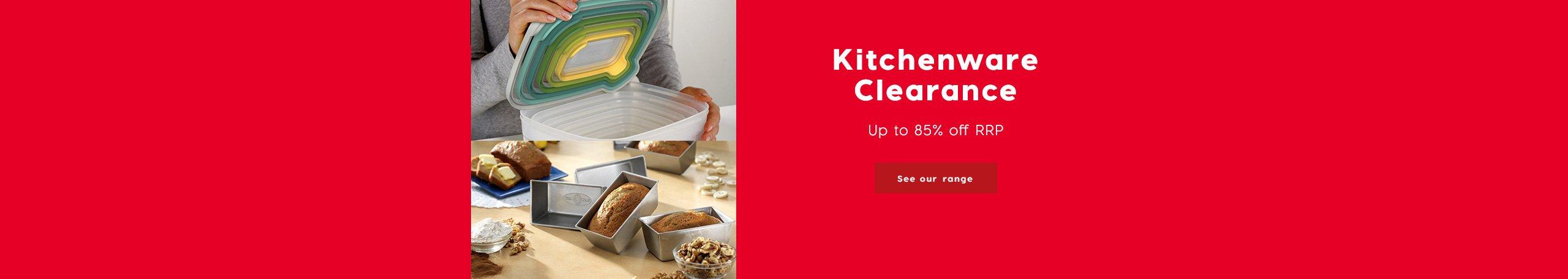 Kitchenware Clearance