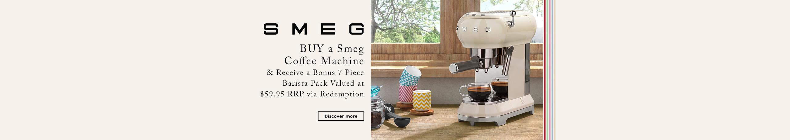 Smeg Espresso Promotion
